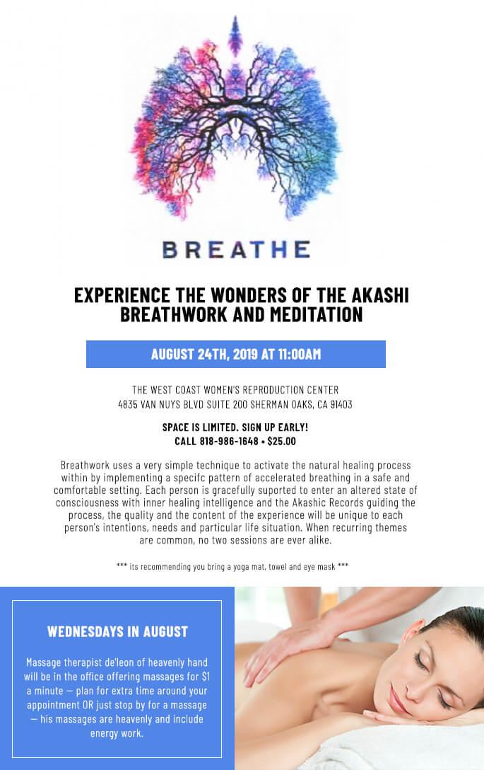 Breathwork Class – August 2019